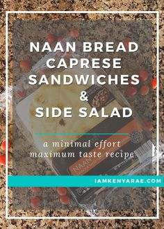 Caprese sandwiches a