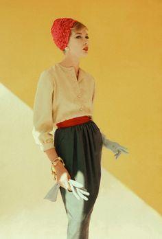 Jessica Ford, photo by Leombruno-Bodi, 1958
