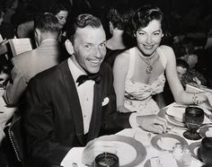 corbis images old Hollywood | Frank Sinatra and Ava Gardner.