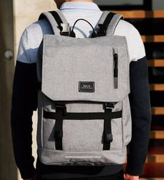 Duffel bags and suit cases aren t for the modern businessman or woman!  Backpack 1f325f827aab7