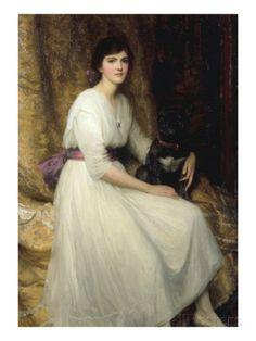 Dorothy, Daughter of Herbert Dicksee, 1917 Giclee Print