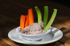 Chefs' Secrets: Green's creamy Pecan Hummus -  Finally, a Paleo version of Hummus!! Yum!! Also Vegan/ GF/Raw
