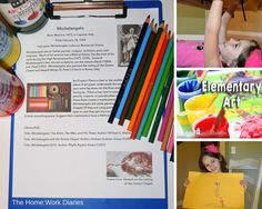 Using SchoolhouseTeachers.com for Elementary Art {Review}