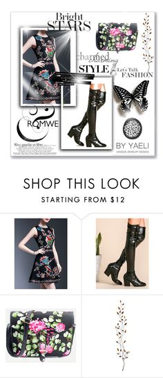 """""""Romwe 9"""" by amelaa-16 ❤ liked on Polyvore featuring Pier 1 Imports and romwe"""