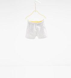 Image 1 of Drawstring Bermuda shorts from Zara