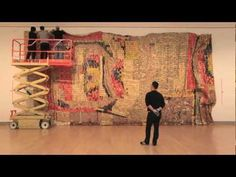 Gravity and Grace: Monumental Works by El Anatsui... would be amazing to be present as pieces unfold and form across a space