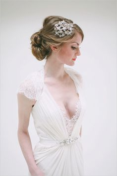 Photographer: Jacque Lynn Photography |  dress: Alta Moda Bridal Boutique
