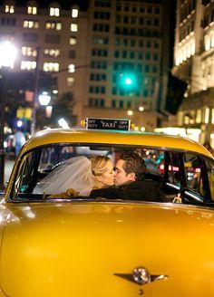 a taxi cab get away