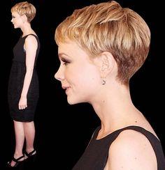 Pixie Haircut Rear View | Closer Look At Carey Mulligan's Pixie/Boy Cut