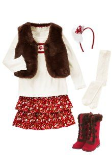 Layered In Style -- holiday outfit from Gymboree