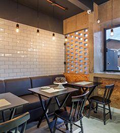 Pin Veredas Arquitetura----- www.veredas.arq.br----- Inspiração NÓZ Cafés e Pães | Galeria da Arquitetura