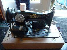 Atlas Vintage Sewing Machine