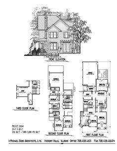 Project 98071 craftsman cottage small home plan infill for Infill home plans