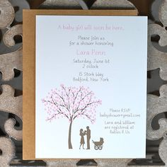 Baby Shower Invitation / Shower Invitations   by deanpennandpaper, $18.00
