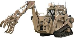 The Modular Robotic Control System (MRCS), a robotics kit to convert commercial construction equipment to teleoperated control.