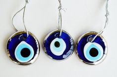 Evil Eye Charms  Evil Eye Home Decoration 3 by PrettyTurkishThings