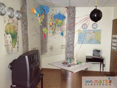 The Big Idea: This Top Secret Intelligence rotation stop is equipped with laser precise locations of missions work on a large hanging map as well as a table top 3-D map. Supplies Needed: Aluminum foil (longest width), tape, several paper maps, several plastic clocks and names of locations on separate strips of paper, small table,…