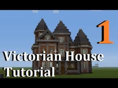 Xbox 360 Minecraft: How to build a Victorian House (part 1)