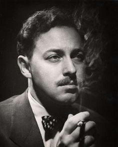 Tennessee Williams...from Columbus, MS. Another one of my favorite writers, and certainly my favorite playwright.