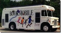 The Bookmobile...I remember wating near my mailbox on bookmobile day!  Loved the smell of books!  :)