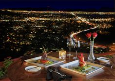 Enjoy a romantic dinner for two or plan a stylish, mountaintop event at Different Pointe of View.