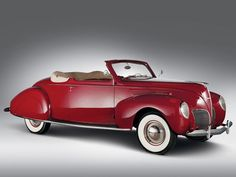 1938 Lincoln-Zephyr Convertible Coupe