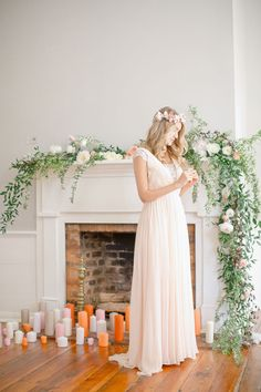 Artistic wedding inspiration with splashes of poppy orange, teal, and matte gold against mid century modern design and gorgeous calligraphy! Ceremony Dresses, Wedding Ceremony, Wedding Dresses, Wedding Church, Trendy Wedding, Floral Wedding, Wedding Flowers, Summer Wedding, Ivy And Aster