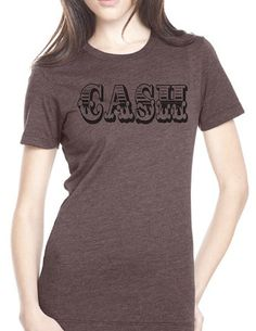 Cas Womens Fitted Tee by GKapparel on Etsy