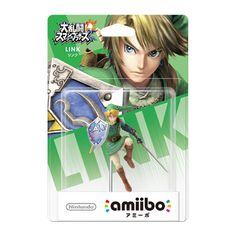 Nintendo amiibo(アミーボ) 大乱闘スマッシュブラザーズシリーズ リンク [Wii U/3DS/3DSLL ゲーム連動キャラクターフィギュア]
