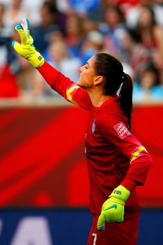Hope Solo vs. Australia, June 8, 2015. (Kevin C. Cox/Getty Images North America)