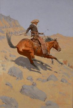 Frederic Remington The Cowboy painting for sale, this painting is available as handmade reproduction. Shop for Frederic Remington The Cowboy painting and frame at a discount of off. Frederic Remington, Westerns, Art Occidental, Into The West, West Art, Illustration, Oil Painting Reproductions, Le Far West, Canvas Prints