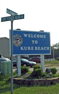 Kure Beach, south of Wilmington NC. One of the best beaches I have visited.  Nice and quiet.