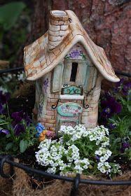 Thyme For Home: Fairy Garden Houses