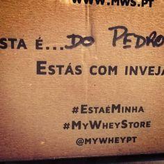 Esta é minha :) #estaeminha #mywheystore ( # @pconst)  #MyWheyStore www.mws.pt
