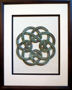 Celtic Knotwork Eternity Pewter Photo Frame 8 x 6