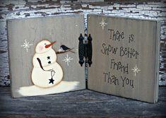 Primitive Snowman Decor Snowman Table Sitter Primitive   Etsy Primitive Snowmen, Primitive Christmas, Country Christmas, Primitive Crafts, Painted Christmas Ornaments, Christmas Crafts, Handmade Ornaments, Christmas Christmas, Wooden Ornaments
