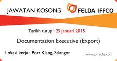Jawatan kosong Felda IFFCO Sdn Bhd terkini 2015. #kerjakosongfeldaiffco2015 #feldaiffcojobs2015