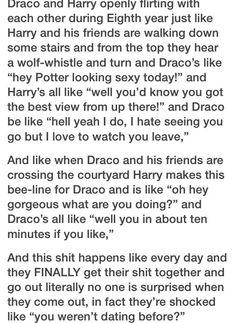 Lol yes Drarry post-battle of hogwarts Harry Potter Comics, Draco Harry Potter, Harry Potter Feels, Harry Potter Ships, Harry Potter Universal, Hermione, Hogwarts, Slytherin, Fandoms