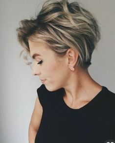 Sophisticated hairstyle
