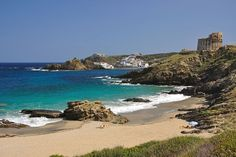 For silky sand, craggy coves and Caribbean-blue waters head to this Balearic island's picture-perfect beaches Travel Destinations Beach, Places To Travel, Places To Visit, Menorca Beaches, Beautiful World, Beautiful Places, Portugal, Spanish Islands, Island Pictures