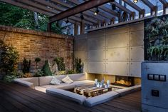 Outdoor Lounge Area by SVOYA Studio
