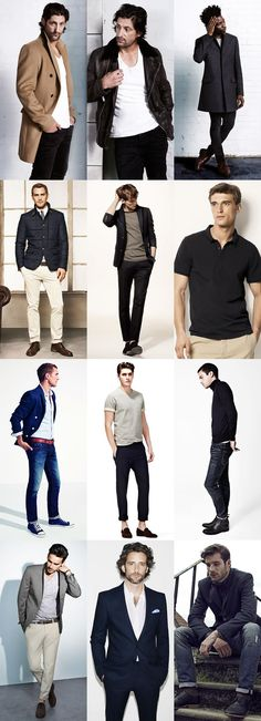 Keeping Men's Fashion Simple Lookbook