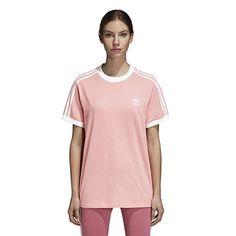 dacb94dfb95 adidas Originals Women's 3 Stripes T-Shirt at Amazon Women's Clothing store  #adidas #