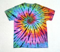 Medium Tie Dye Shirt by TieDyeBySandy on Etsy, $18.00