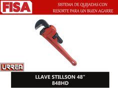 "LLAVE STILLSON 48"" 848HD. Sistema de quijadas con resorte para un buen agarre- FERRETERIA INDUSTRIAL -FISA S.A.S Carrera 25 # 17 - 64 Teléfono: 201 05 55 www.fisa.com.co/ Twitter:@FISA_Colombia Facebook: Ferreteria Industrial FISA Colombia"