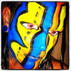 TNA Impact Zone, 1 Nov 2012 Best Wwe Wrestlers, Wrestling Superstars, Wwe Hardys, Jeff Hardy Face Paint, Wwe Jeff Hardy, The Hardy Boyz, Wwe Stuff, Brothers In Arms, Cool Face