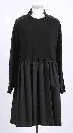 rundholz - Kleid Tunika in Blusenform black - Winter 2016 - stilecht - mode für frauen mit format...