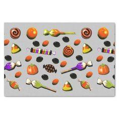 Halloween Party Decor Tissue Paper - pattern sample design template diy cyo customize