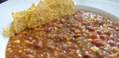 Crock Pot Red Beans and  Rice Soup and most times already have ingredients on the shelf!  www.getcrocked.com