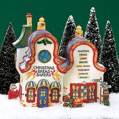 Department 56 Christmas Bread Bakers 56.56393